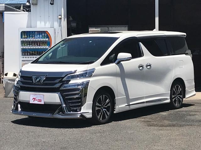 トヨタ 3.5Z G 純正SDナビ フリップダウン LEDライト