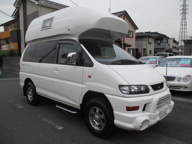 三菱 4WD キャンピング カトーモーター社製 クイーンハット
