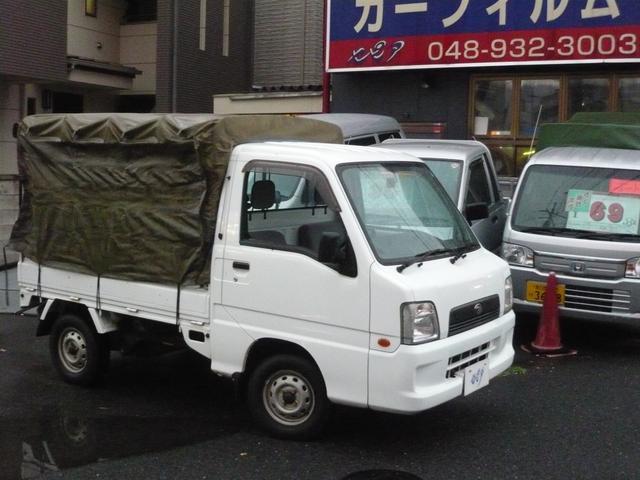 スバル 幌付 4WD