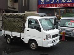 サンバートラック幌付 4WD