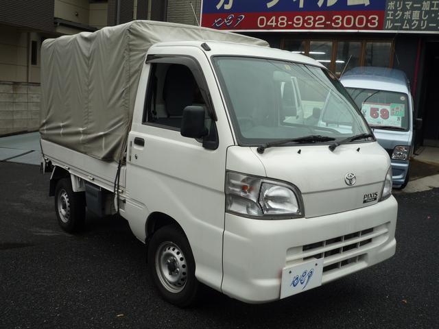 トヨタ スペシャルエアコン・パワステバージョン 幌付 オートマ車