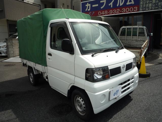 日産 クリッパートラック DX 幌車