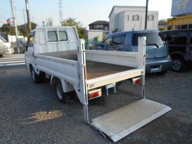 日産  垂直パワーゲート/新明和製/5MT/積載1000kg/荷台長さ269cm/幅161cm