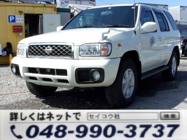 日産 テラノ ワイド R3m-X ワイドボディ- 背面タイヤ 4WD キーレス Wエアバック ABS ガソリン車 AT