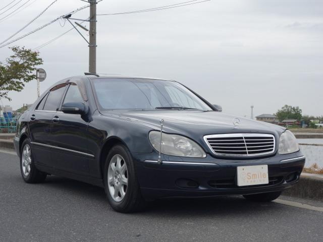 Sクラス S500 D車 黒革シート サンルーフ