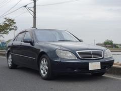 M・ベンツS500 D車 黒革シート サンルーフ