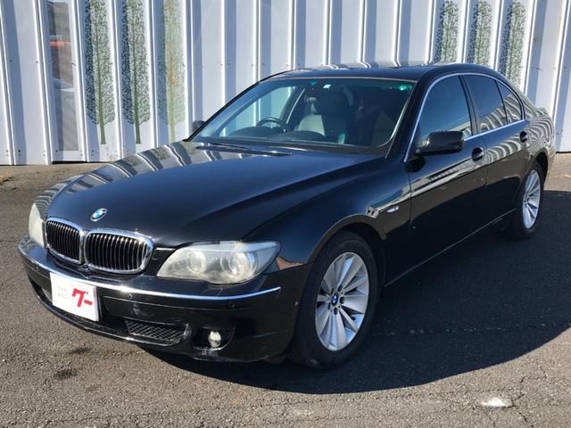 BMW 7シリーズ 750i HDDナビ オートクルーズコントロール スマートキー プッシュスタート ETC サンルーフ パワーシート