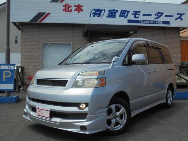 トヨタ ヴォクシー トランスX 禁煙車 フルセグTV Bluetooth ETC