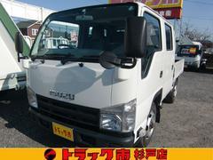 エルフトラックWキャブ 全低床 4WD 積載1.15t