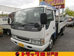 エルフトラック2.9t 4段クレーン ワイドロング 積載3.5t