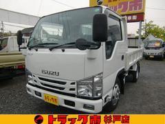 エルフトラック全低床強化ダンプ 積載3トン