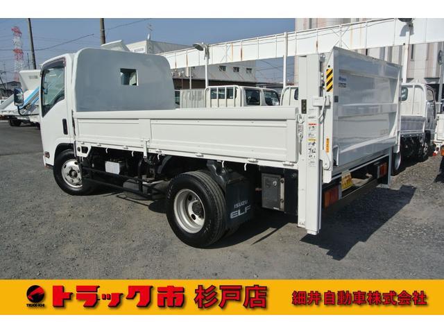 いすゞ エルフトラック 積載3t全低床標準セミロング 垂直PG 距離無制限1年保証