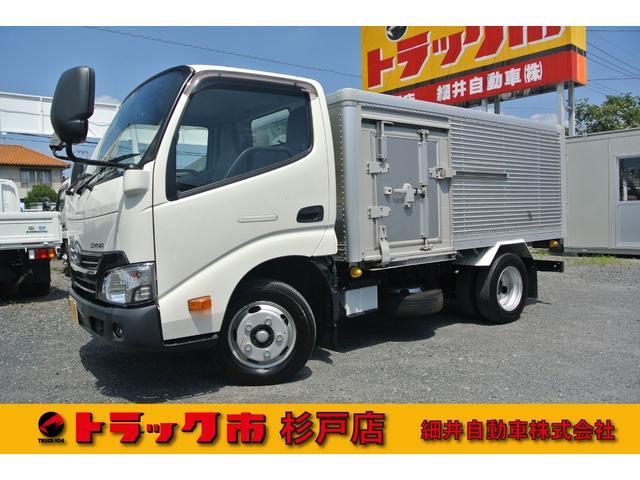 トヨタ ダイナトラック 積載2トン 全低床アルミドライバン 4ナンバー