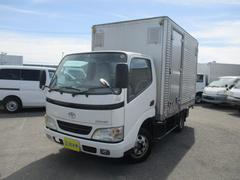 ダイナトラックロングジャストロー アルミバン Wタイヤ 1500Kg積載