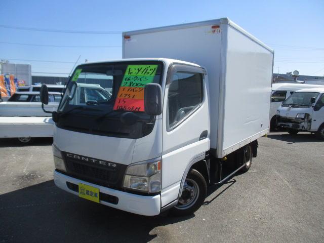 三菱ふそう キャンター 全低床DX 保冷バン Wタイヤ 1750K...