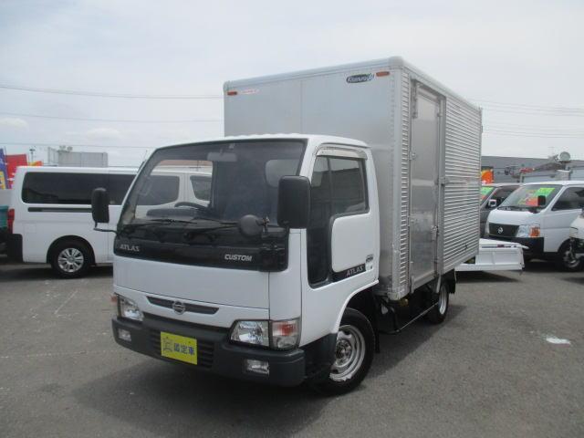 日産 カスタム アルミバン Wタイヤ 1400Kg積載
