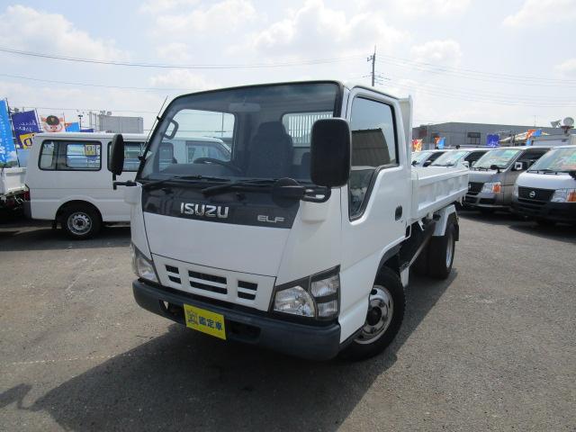 いすゞ 三転ダンプ Wタイヤ 2000Kg積載