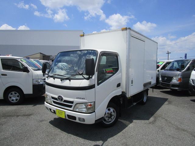 トヨタ ロングフルジャストロー 保冷バン 1500Kg積載