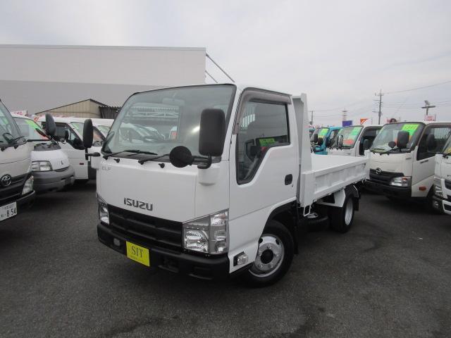 いすゞ エルフトラック フルフラットローダンプ 低床 2000Kg積載