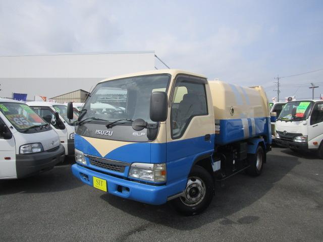 いすゞ エルフトラック ベースグレード パッカー 富士重工業 回転版式 3350Kg積載