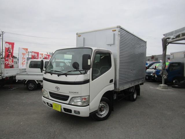 トヨタ トヨエース ロングジャストロー アルミバン オートマ Wタイヤ 1450Kg積載