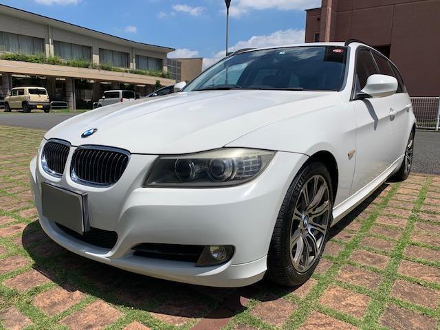 BMW 320iツーリング 後期型直噴 HIDヘッドライト オートライト 17インチアルミ 純正HDDナビ ETC スマートキー パワーシート