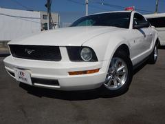 フォード マスタングV6プレミアム HDDナビ 黒本革シート 新車保証書
