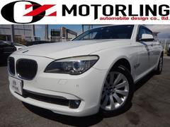 BMW740i ターボ プラスPKG 黒革シート 正規ディーラー車
