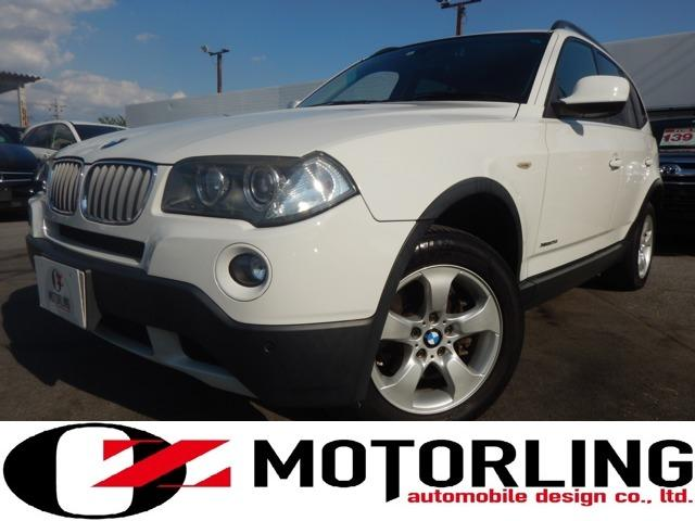BMW X3 2.5si 4WD パワーシート 正規D車 後期型