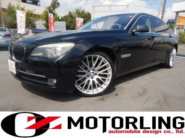 BMW 7シリーズ 750Li ターボ ブラックレザーシート サンルーフ コンフォートアクセス ワンオーナー 禁煙車