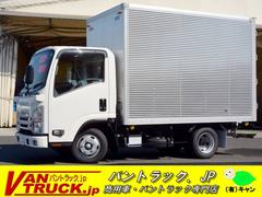 エルフトラック10尺 アルミバン 全低床 ラッシング2段 積載2000kg