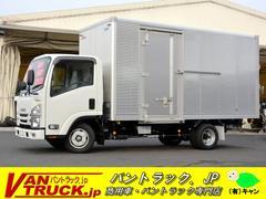 エルフトラック標準ロング アルミバン 全低床 サイドドア 積載2t