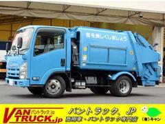 エルフトラックパッカー車 極東プレス 4.3立米 積載2000kg