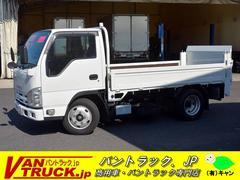 エルフトラック平ボディー 垂直リフト 積載2950kg 10尺 新明和製