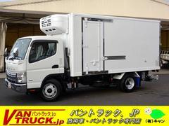 キャンターワイドロング 冷凍車 格納リフト サイドドア 積載3t