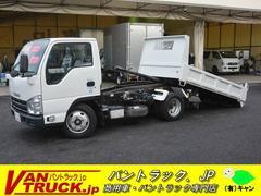 エルフトラックローダーダンプ 新明和製 積載3000kg 手動コボレーン