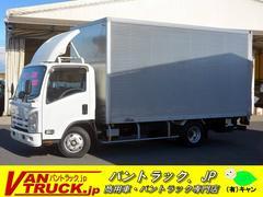 エルフトラックワイドロング アルミバン パワーゲート付 積載2000kg