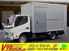 ダイナトラック10尺 アルミバン 積載950kg サイドドア パワーゲート