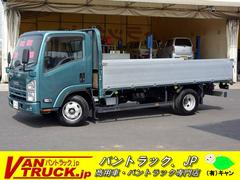 エルフトラックワイドロング 平ボディー アルミブロック 積載4600kg
