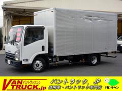 エルフトラックワイドロング アルミバン 積載2000kg ラッシング1段