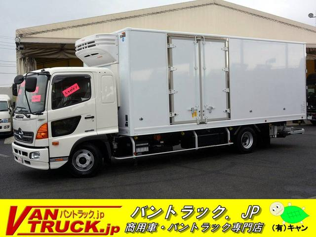日野 ワイド 冷凍車 格納ゲート 観音サイドドア 2.4t積
