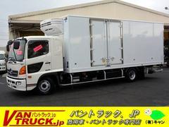 ヒノレンジャーワイド 冷凍車 格納ゲート 観音サイドドア 2.4t積