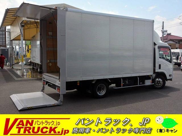 いすゞ ワイドロング アルミバン 垂直パワーゲート 積載2000kg