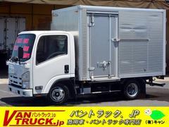 エルフトラック10尺 アルミバン 積載2000kg サイドドア バックアイ