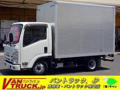 エルフトラック10尺 アルミバン 積載2000kg ラッシング バックアイ