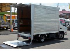 ダイナトラック10尺 アルミバン 積載2000kg 垂直パワーゲート