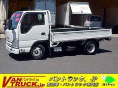 エルフトラック10尺 平ボディー 積載1500kg フルフラットロー ナビ