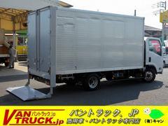 エルフトラックワイドロング アルミバン 積載2t 垂直リフト サイドドア