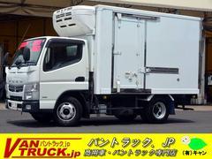 キャンター10尺 冷蔵冷凍車 サイドドア 積載2t 東プレ −30度