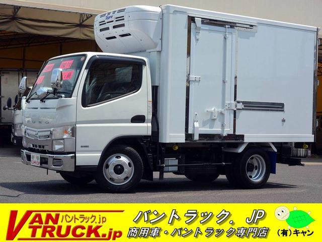 三菱ふそう 10尺 冷蔵冷凍車 サイドドア 東プレ-30度設定 2t